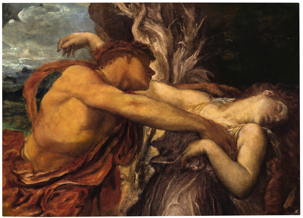Watts George Frederic Orpheus And Eurydice, 1870