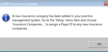 New Insurance Company Pop-Up