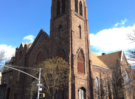This magnificent neo-Gothic Harlem church is now rubble