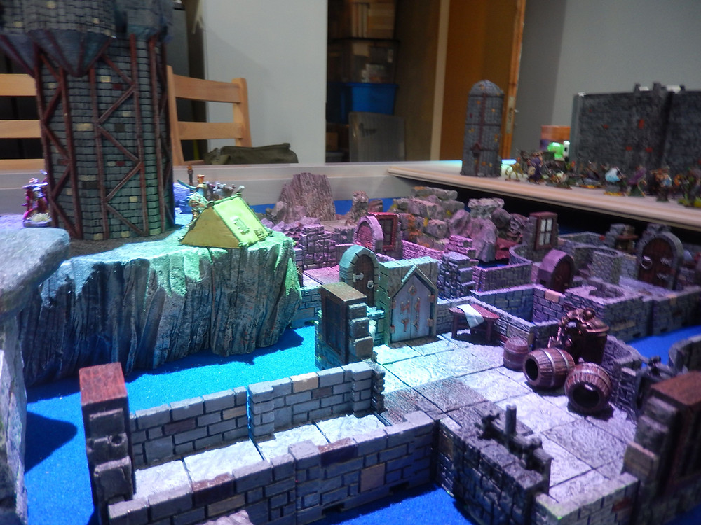 Dungeons and Dragons tabletop terrain and miniatures made by Mystic Pigeon Gaming