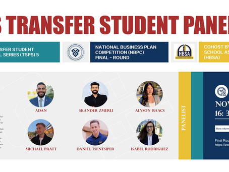 UC Berkeley Haas Transfer Panel