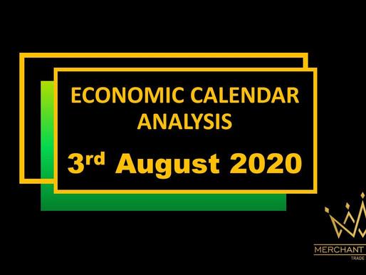 Merchant Economic Calendar | AUGUST 3, 2020