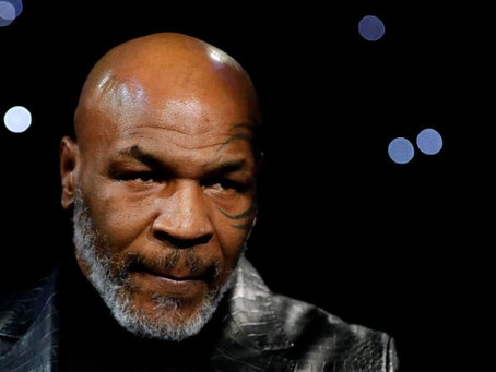 Mike Tyson prepares for potential return to boxing ring, releasing a training video that says: