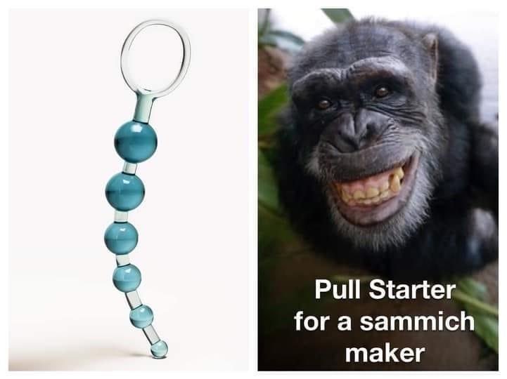 Pull starter for sammich maker