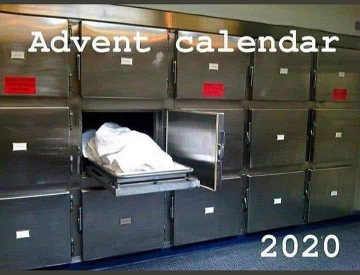 2020 Advent Calendar morgue
