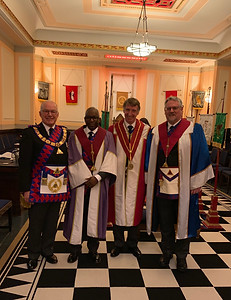The Installation meeting of Wessex Chapter No.3221