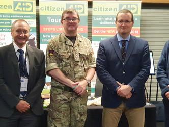 citizenAID at Medical Innovation Conference Birmingham 2018