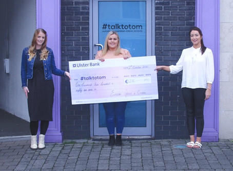 Fitting song raises funds for Talk to Tom