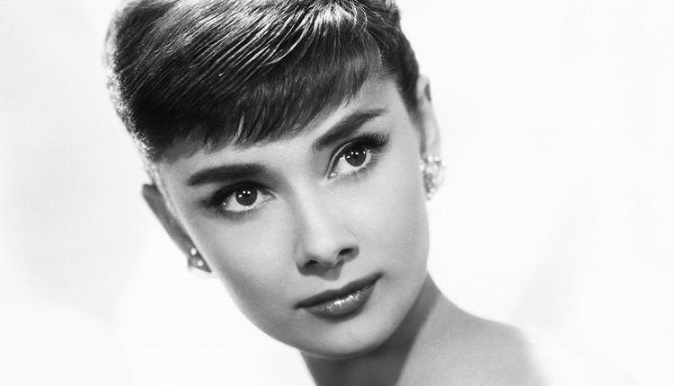 Audrey Hepburn natural brunette