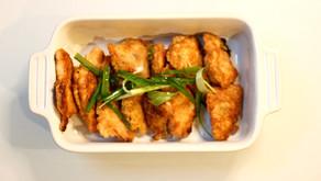 Korean Pan Fried Fish Jun  (Saeng Sun Jeon)