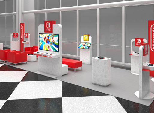 Ready Player One: Nintendo does airport lounges