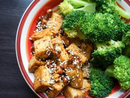 Spicy Almond Tofu