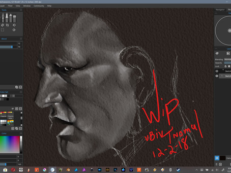 Sketch Sessions 4 a.m. WIP Edition