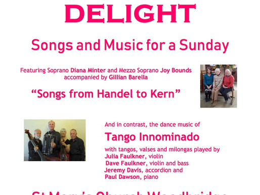 Afternoon Delight Concert