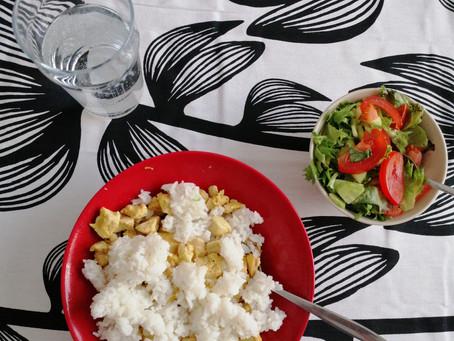 Arkiruokailu 4. Makroravinteet ja kuitu ruokavaliossa, kun tavoitteena on rasvanpoltto