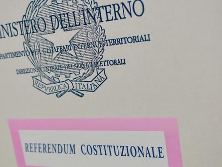 """Appello per il """"NO"""" al referendum costituzionale del 20 e 21 settembre"""