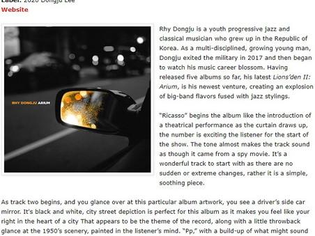 Musicmanreview reviewed 'Arium'