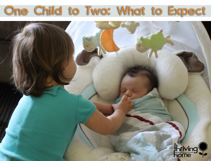 What to Expect Transitioning from One Child to Two, Monday Morning Moms