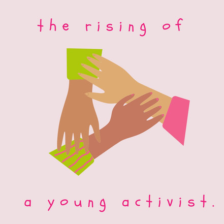Rising of a young activist