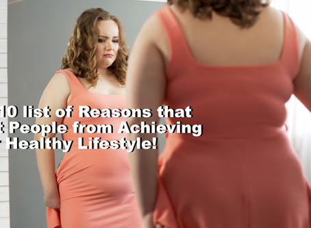 Do you struggle to achieve a Healthy Lifestyle?