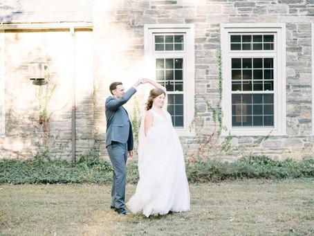 Allison + John's Rustic Mansion Wedding in Pennsylvania!