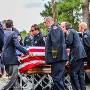Funeral Services for Desoto Fire District #1 Chief Rusty Canton