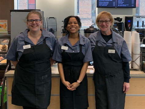 Books and beans: the library's barista