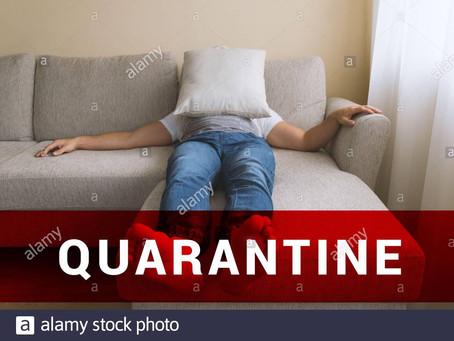 Quarantine in place, bah, humbug!