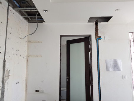Project IDEAL 24 Sukhumvit soi 24 Condo renovation for construction