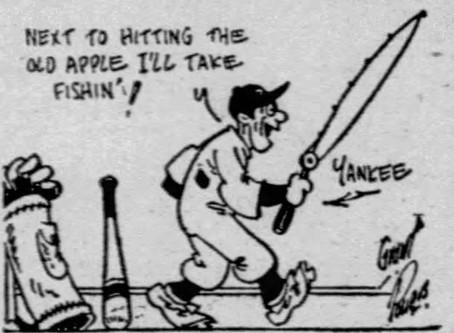 Lou Gehrig, Angler (Part 1)