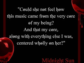 TwilightMOMS favorite Midnight Sun Quotes