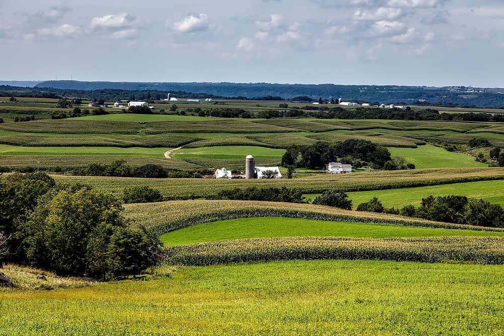 Photo of Iowa farmland