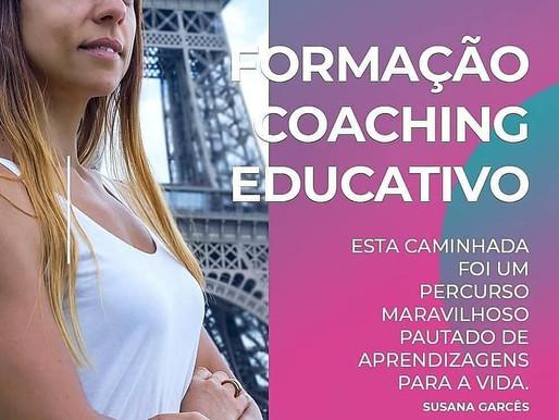 Mónica, coachee da 6.a Edição da Formação em Coaching Educativo online