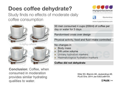 Does coffee dehydrate?