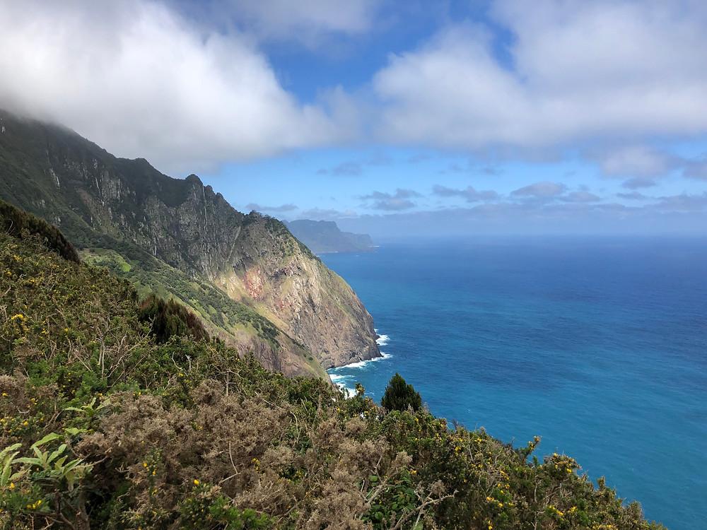 A Madeira,Dove verde e blu si incontrano