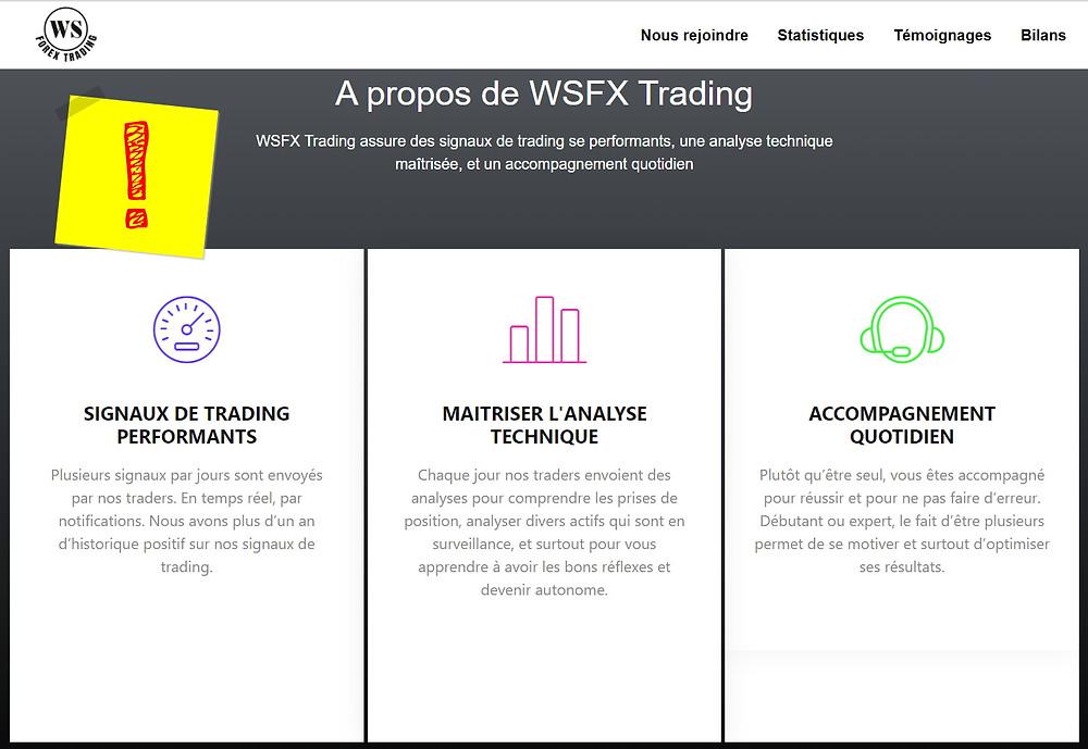 WSFX Trading Arnaque