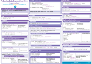 Importing Data: Python Cheat Sheet
