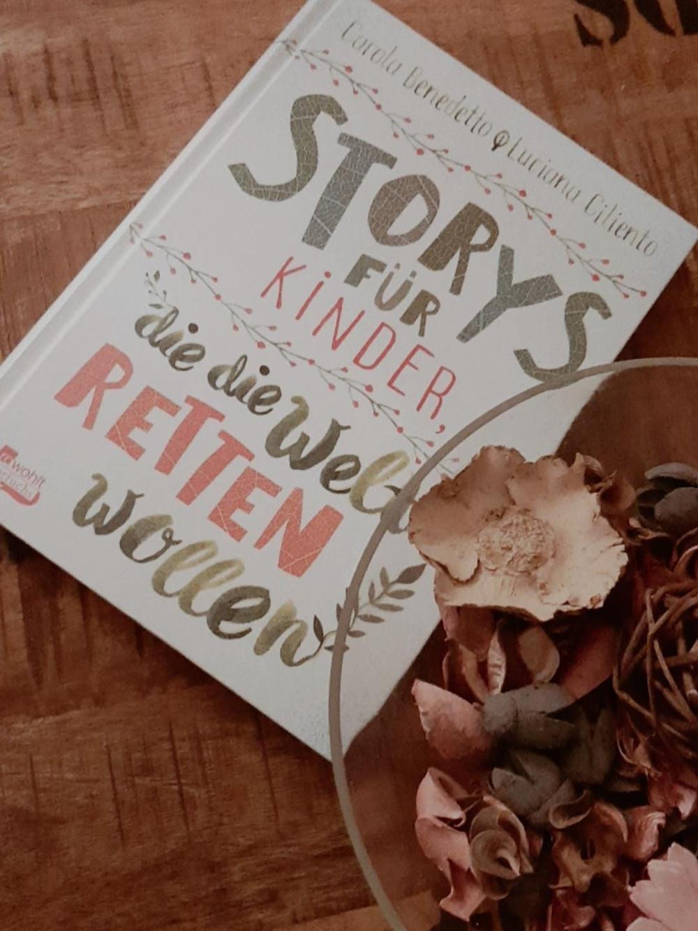 Buchcover: Stories für Kinder die die Welt retten wollen