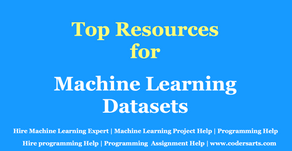 Top Source For Machine Learning Datasets