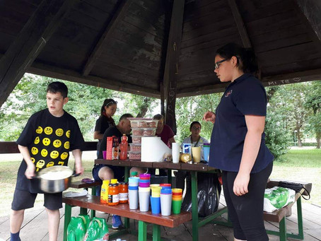 Odredska roštiljada na Jarunu