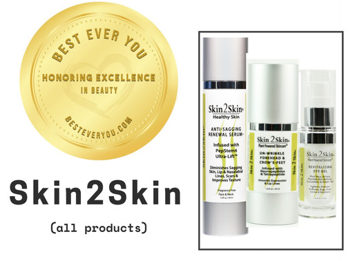 Skin 2 Skin - Gold Seal of Excellence in Beauty