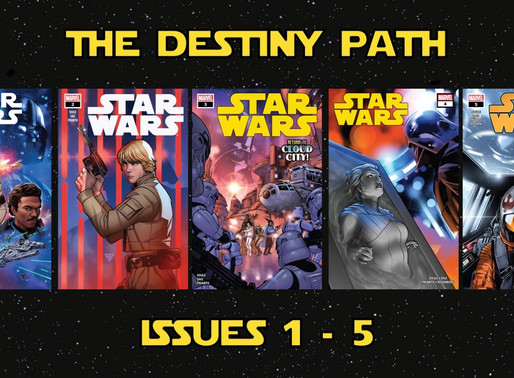 Comic Review: Star Wars - The Destiny Path (Issues 1 - 5)