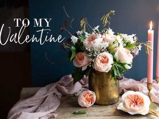 Garden Roses for My Valentine