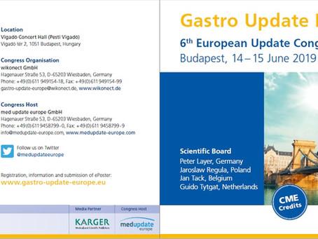 Gastro Update 2019. 06.14-15. Budapest