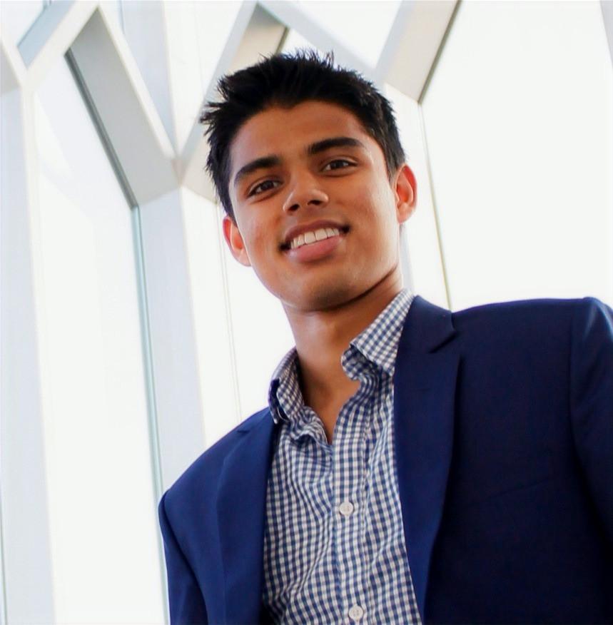Rishav Khanal, CEO of inPerson