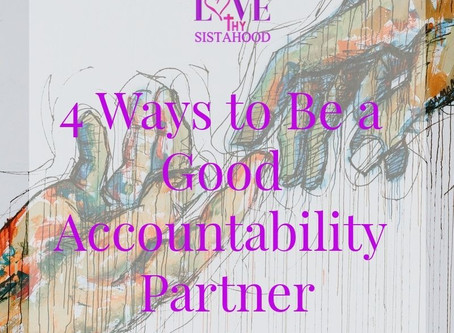4 Ways to Be a Good Accountability Partner