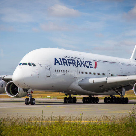 Arrendarán el primer Airbus A380 de Air France retirado