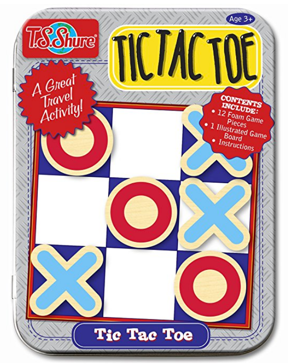 Tic Tac Toe | Best Games for Road Trips