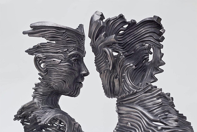 Steel work by Gil Bruvel