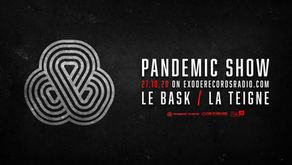 Pandemic show on exoderecordsradio.com